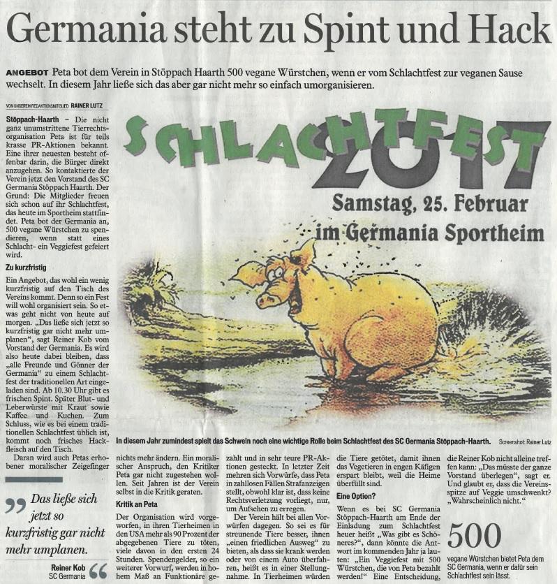 170325 schlachtfest bericht tageblatt