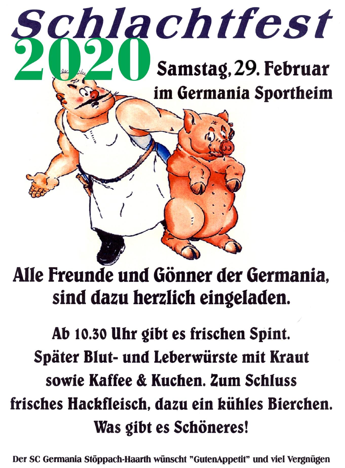 schlachtfest 2020