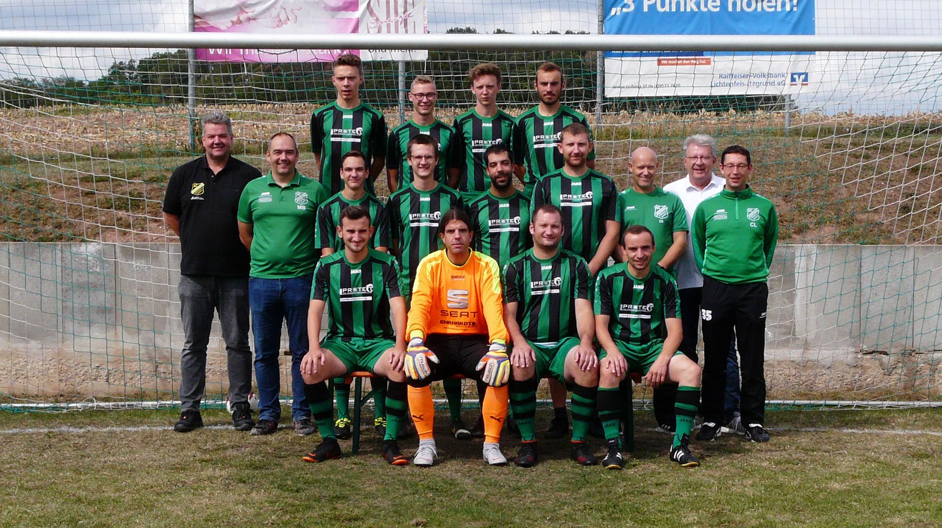 1. Mannschaft SC Germania Stöppach-Haarth Saison 2020/2019