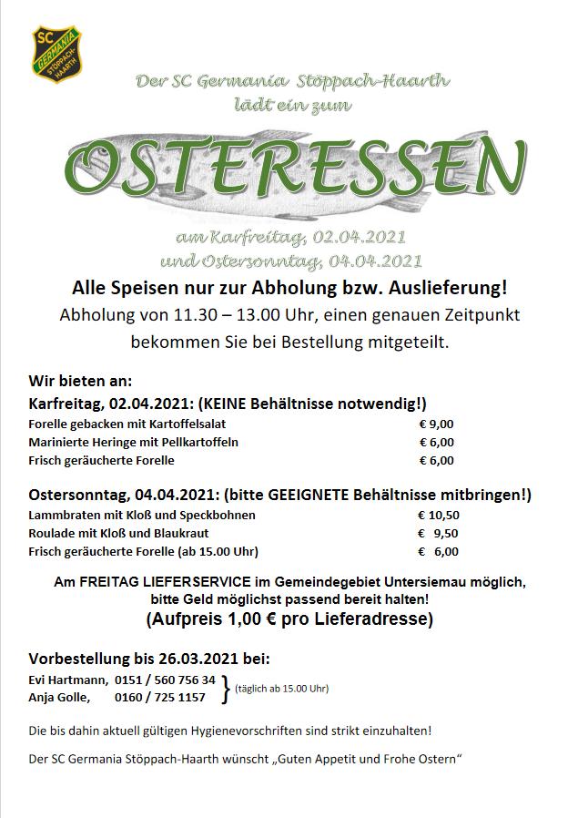Einladung Ostern 2021